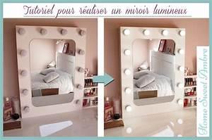 Maison Du Monde Coiffeuse : miroir lumineux maquillage pro ~ Teatrodelosmanantiales.com Idées de Décoration