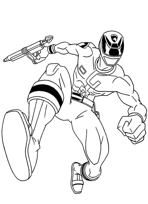 power rangers coloring pages coloringpages