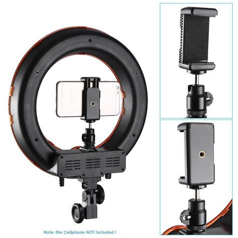 dimmable led ring light neewer smart phone camera led dimmable ring video light kit