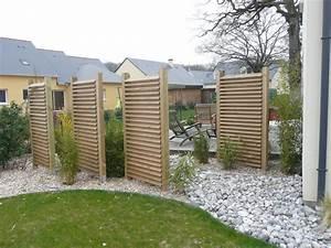 galeries de photos vertheme paysagiste a angers With amenagement exterieur jardin moderne 5 brise vue aluminium moderne jardin angers par