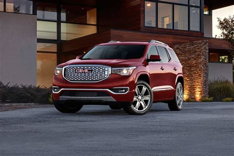 2017 Gmc Acadia Sle-2 Suv Review & Ratings
