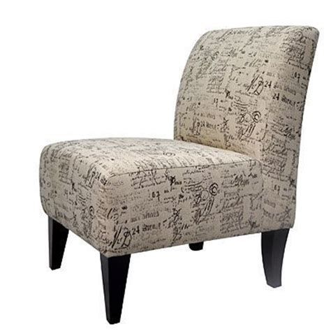 autograph coffee armless accent chair big lots for the