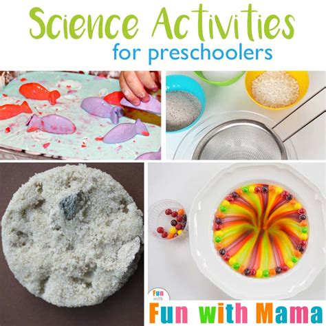easy science experiments for preschoolers 763 | Science Activities For Preschool Square