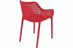 Chaise Rouge Design : chaise design rouge aeria chaise design pas cher ~ Teatrodelosmanantiales.com Idées de Décoration