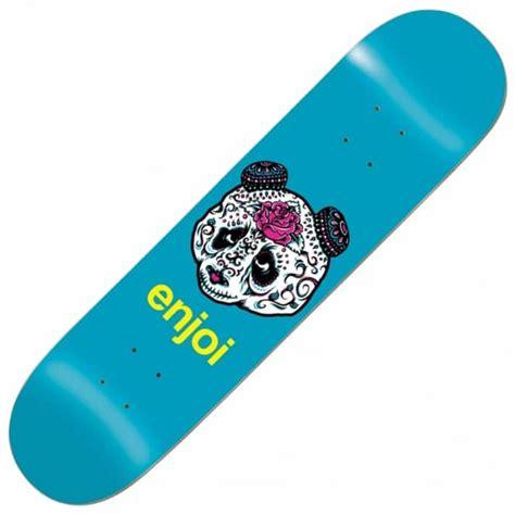 enjoi skateboards quinceanera panda skateboard deck 8 5