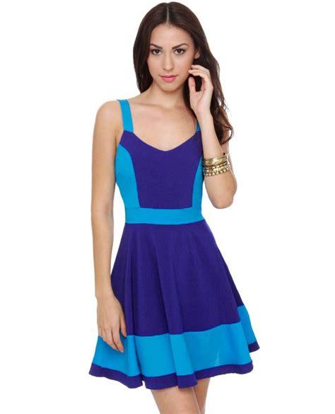Love the colors   Cute blue dresses, Blue dresses, Dresses