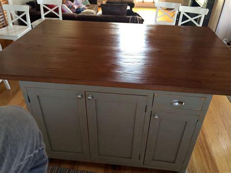 barn wood kitchen island ecustomfinishes
