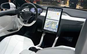 Tesla Model X 2013 Interior – Front Seat Driver