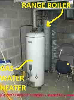 range boilers  making hot water