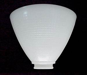 floor table lamp 8 in white milk glass reflector shade With floor lamp reflector shade glass