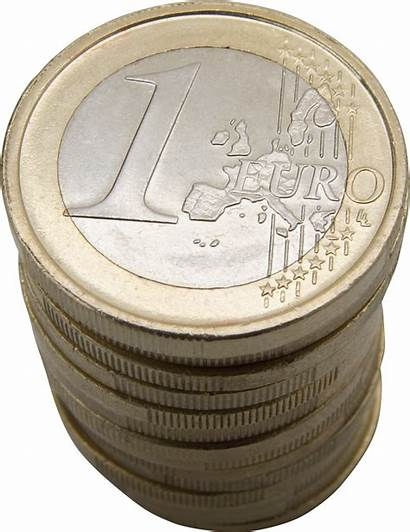 Euro Money Background Stack Coin Clipart Coins