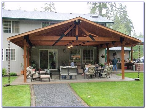 covered patio ideas for backyard patios home
