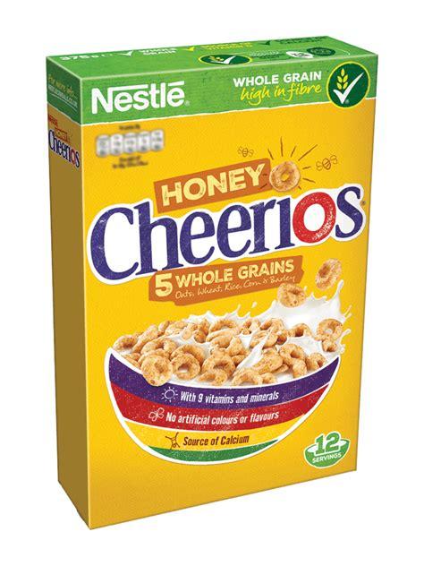 split box nestlé cheerios brand nestlé cereals