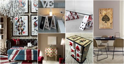 fun playing cards interior decor ideas