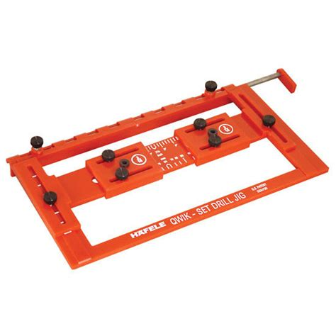 drilling jig for cabinet and drawer handles hafele quick set drilling jig for precise drilling and