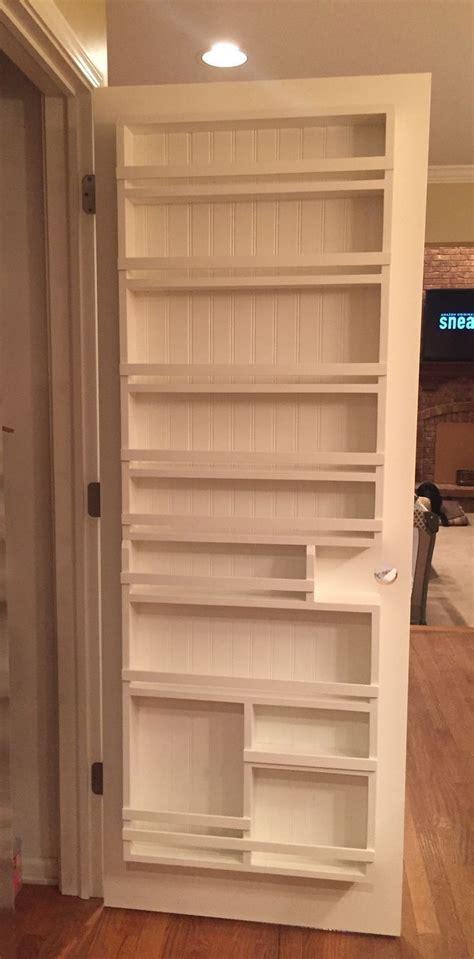 kitchen pantry door storage diy pantry door spice rack the best of interior decor in 5483