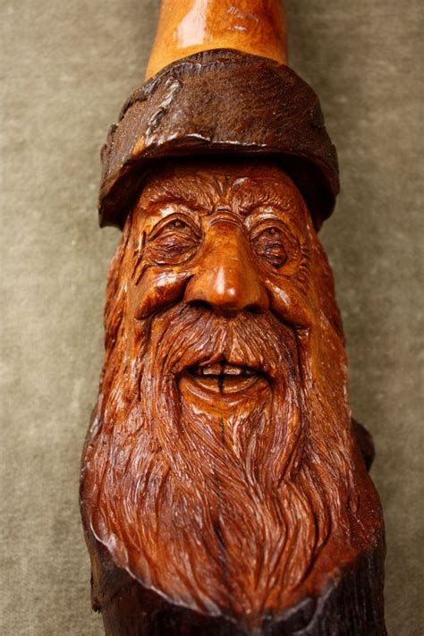 images  wood spirits  pinterest folk art