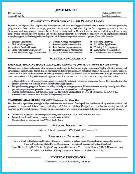 nice brilliant corporate trainer resume samples   job