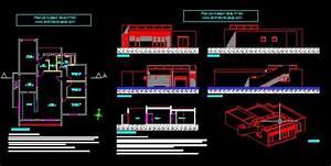 plan maison bois plain pied 160 villad39architecte 160 With plan de maison dwg gratuit