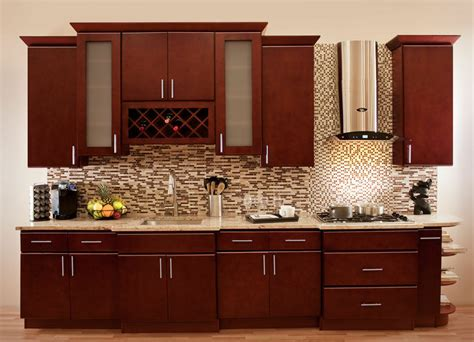 villa cherry wood kitchen cabinets cherry stained maple