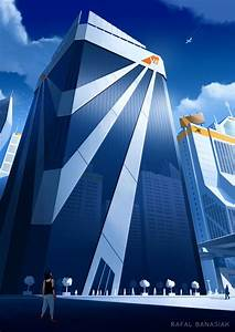 "Mirror's Edge ""The VE Tower"" by Rafal-Banasiak [Digital ..."