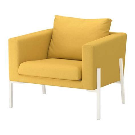rode fauteuil ikea koarp armchair orrsta golden yellow white ikea