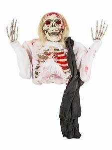 Halloween Deko Kaufen : blutiges skelett halloween deko figur weiss schwarz 152cm ~ Michelbontemps.com Haus und Dekorationen