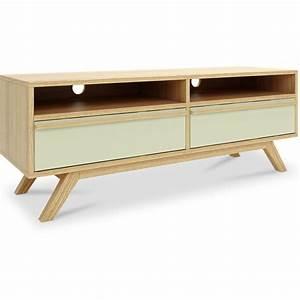 Meuble Style Scandinave : meuble tv style scandinave bois les meilleures ventes iconikinterior ~ Teatrodelosmanantiales.com Idées de Décoration