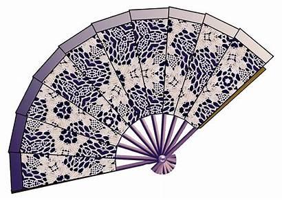Clip Decoupage Lace Paper Prints Fans Crafts