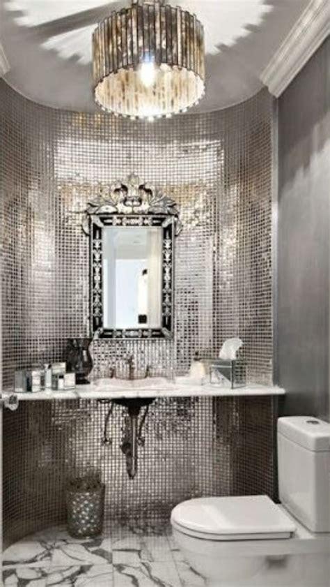 luxury silver bathroom luxurydotcom  top pins