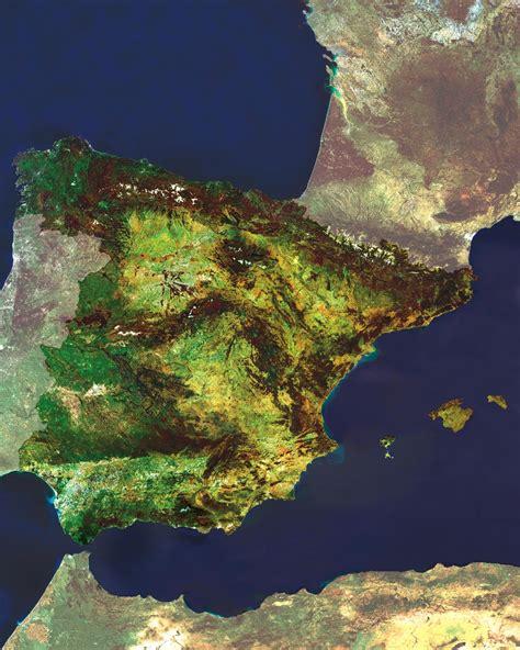 mapa de espana turismoorg