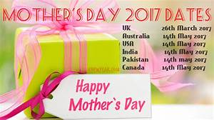 Mother's Day Date 2017 - When is Mother's Day and How it's ...
