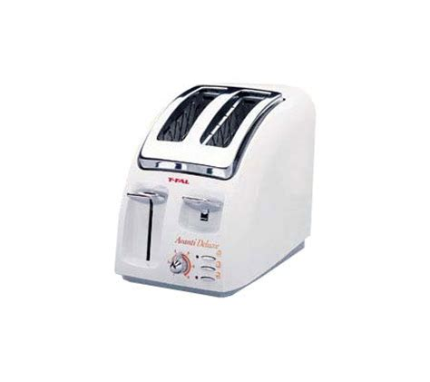 tfal avante toaster t fal avante 2 slice toaster white qvc
