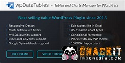 wpDataTables v1.7.2 - Tables and Charts Manager - Crackit Indonesia