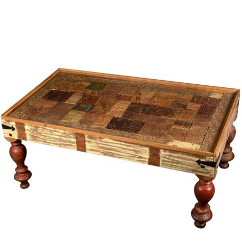 Thus, go looking with a specific look in mind. Reclaimed Wood Classic Country Style Rectangular Coffee Table