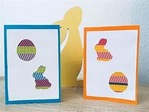 Osterkarten Basteln Mit Kindern : easy peasy osterkarten basteln zu ostern der familienblog f r kreative eltern ~ Eleganceandgraceweddings.com Haus und Dekorationen