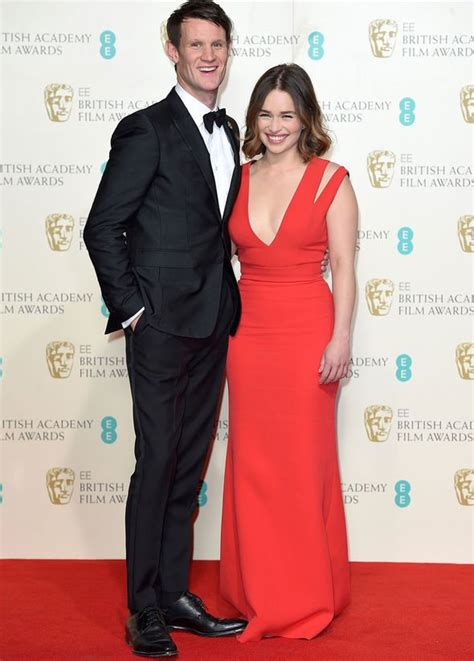 Emilia Clarke Game of Thrones star and Matt Smith spark ...