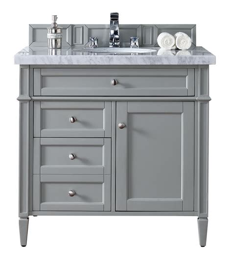 brittany single bathroom vanity urban gray gray
