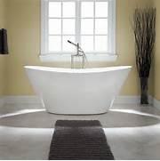 Freestanding Bath Tub by Sale 68 Treece Freestanding Acrylic Tub No Overflow Tub Floor Bum