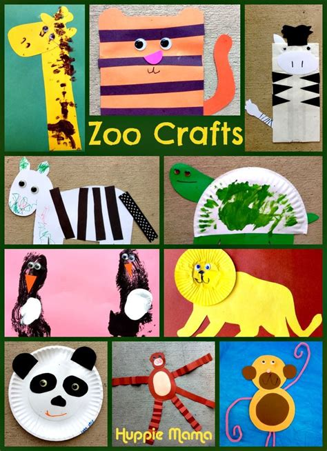 10 zoo animal preschool crafts animal crafts zoo 458 | 79e1044820a0203b39be1420825a258d