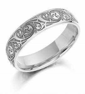 celtic wedding ring ladies gold celtic spiral triskel With ladies celtic wedding rings