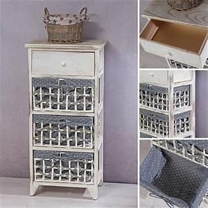 Kommode Grau Vintage : kommode vintage sideboard grau wei ~ Michelbontemps.com Haus und Dekorationen