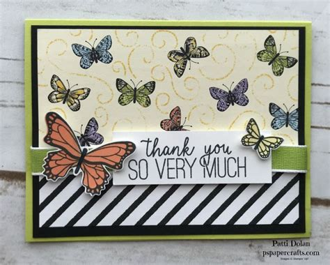 Beautiful Butterfly Gala Butterfly cards Stampin up
