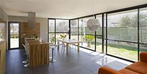 Rideau Baie Vitree : rideau baie coulissante mam menuiserie ~ Premium-room.com Idées de Décoration