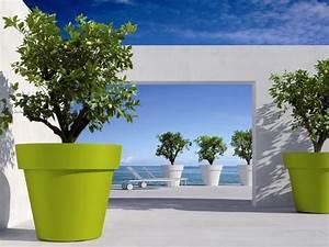 Jardiniere Plastique Gros Volume : pots de fleurs bacs jardini res am nagement ~ Dailycaller-alerts.com Idées de Décoration