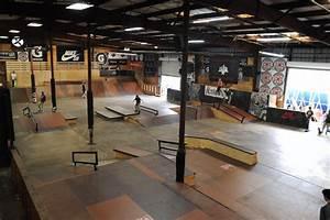 skate boarding skatepark of ta florida usa