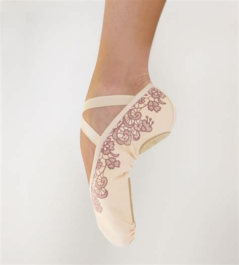 micro lace ballet slippers grishko