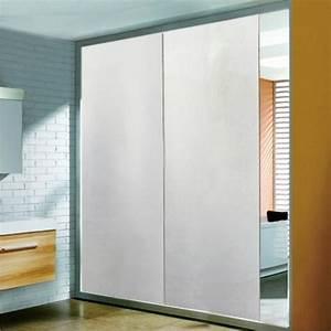 Miroir Adhésif Pour Porte : film aspect verre d poli pour miroir porte de placard design 42 ~ Melissatoandfro.com Idées de Décoration