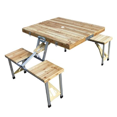 portable table and chairs pine wood folding table one piece folding table portable
