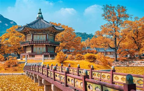 daftar  tempat wisata  korea selatan  populer